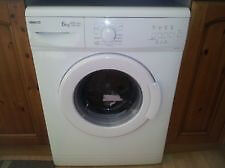 Beko WM6123 6kg 1200 Spin White A+ARated Washing Machine 1 YEAR GUARANTEE FREE FITTING