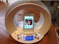 Radio, Alarm, Ipod Dock, On Time by JBL