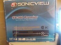 Sonicview 4000 fta receiver with iHub internet dongle.