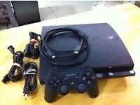 PS3 slim, 320gb, 8 games