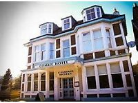 Live In Couple or Single Person required for Small Country Hotel – Commis Chef/General Assistant