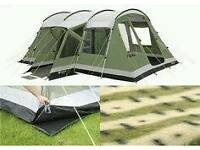 Outwell Montana Tent + awning/ extension + carpet plus extras!!!!
