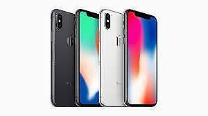 BRAND NEW IN BOX APPLE IPHONE X 64/ 256GB WITH ONE YEAR APPLE WARRANTY