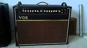 """Mint Condition, VOX AC50 """"ALL Tube"""" Guitar Amplifier+Footswitch"""
