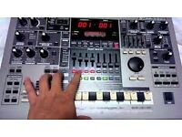 Roland MC505 with original instructions can be used as midi controller ableton create a track on it