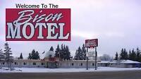 Motel Manager for Bison Motel in Wainwright, Alberta