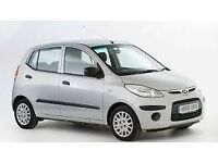 2010 hyundai i10 comfort{fsh/49000 miles/just serviced/20 pounds tax/6 months warranty}