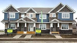New Town Homes-Landscaped & Double Garage Included