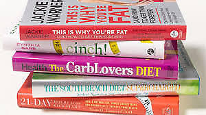HUGE SELECTION OF HEALTH BOOKS