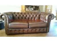 Chesterfield Sofas / Arm Chairs. Chesterfield 2 Seater Sofas Custom Made To Your Requirements