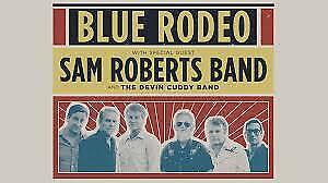 Blue Rodeo Saturday August 24th 7:00pm Budweiser Stage