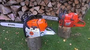 looking for non running  stihl an husky chainsaws