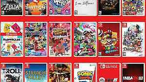 Looking for switch games