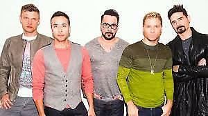 Backstreet Boys Tickets July 25 -LOWER BOWL & BALCONY !!