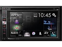 PIONEER AVIC-F960BT SATNAV/CD/DVD/MEMORY CARD ETC (free fitting)