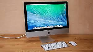 iMac 21.5 inch, mid 2011. 2.5 GHz Intel Core i5 12 GB memory