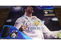BRAND NEW & SEALED PS4 SLIM 500GB & FIFA 18 BUNDLE
