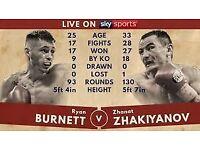 Ryan Burnett Vs Zhanat Zhakiyanov @ SSE Arena, Belfast