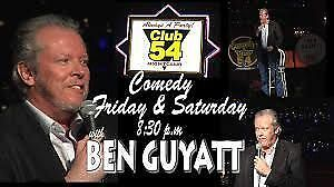 Comedy at Club 54 wings and pizza party