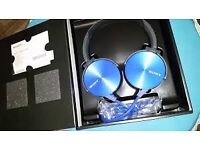New Sony MDR-XB450AP (Blue),Never Used,Box Opened,Perfectly working