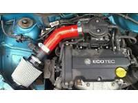 Corsa b 1.2 16v induction kit