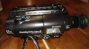 8 MM Camcorder - Sony CCD-TR64