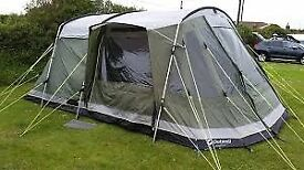 Outwell Ontario LP Tent 2012 and Front Awning Premium Collection