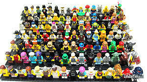 looking for lego series minifigures or black series plates