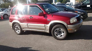 2003 Suzuki Grand Vitara JX trés bon condition mecanique et body