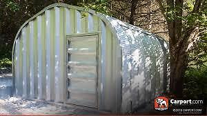 Small Metal Building For Sale-12 x 24- Unassembled