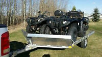 CHECK THIS OUT! NEW 2014 ALUMINUM SLED Trailer