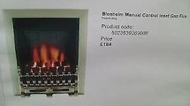 focal point blenheim gas fires x2