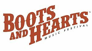2 General Admission Tickets to Boots and Hearts for sale
