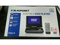 blaupunkt 7inch portable dvd player