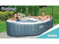 Siena Air Jet Lay-Z-Spa Hot Tub NEW BARGAIN Re Advertised due to timewasters