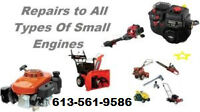 Need your Snowblower repaired, give me a call