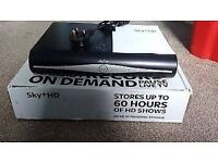 FOR SALE SKY+ HD BOX R 500GB 3D anytime+