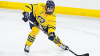 College Hockey Player