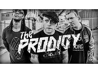 1 x PRODIGY Standing ticket. Face Value. 18/12 Glasgow.