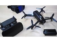 Bebop parrot power 2 fpv with sky controller 2, spare battery and goggles