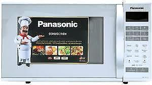 PANASONIC MICROWAVES Genius 1.2 CUF, 1.3 CUF, 1.4 CUF, 1.6 CUF STAINLESS STEEL . NEW in box. SUPER SALE  $79.00 NO TAX.