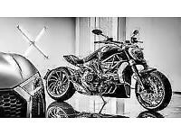 UNREGISTERED DUCATI X DIAVEL S IN GLOSS BLACK - AVAILABLE NOW