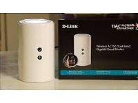 D-Link Wireless AC750 Dual Band Gigabit Cloud Router- White (DIR-817LW) £15