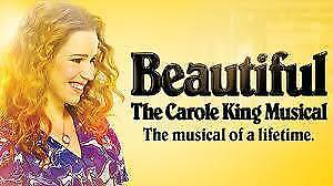 2 Tickets Beautiful: The Carole King Musical