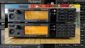 Roland Sound Brush and Sound Canvas