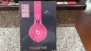 Beats Mixr On-Ear DJ Headphones With Remote And Mic (Pink)