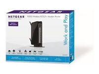 Netgear Wireless-N 300 Router with DSL Modem - BRAND NEW IN BOX