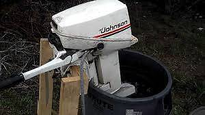 Wanted Johnson or Evinrude 9.9 - 15 hp outboard motor Enfield Port Adelaide Area Preview