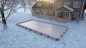 Backyard Rink, Ice Hockey or Skate at Back Yard 24 X 48