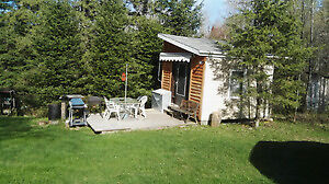 Tiny house on 1 acre land for sale